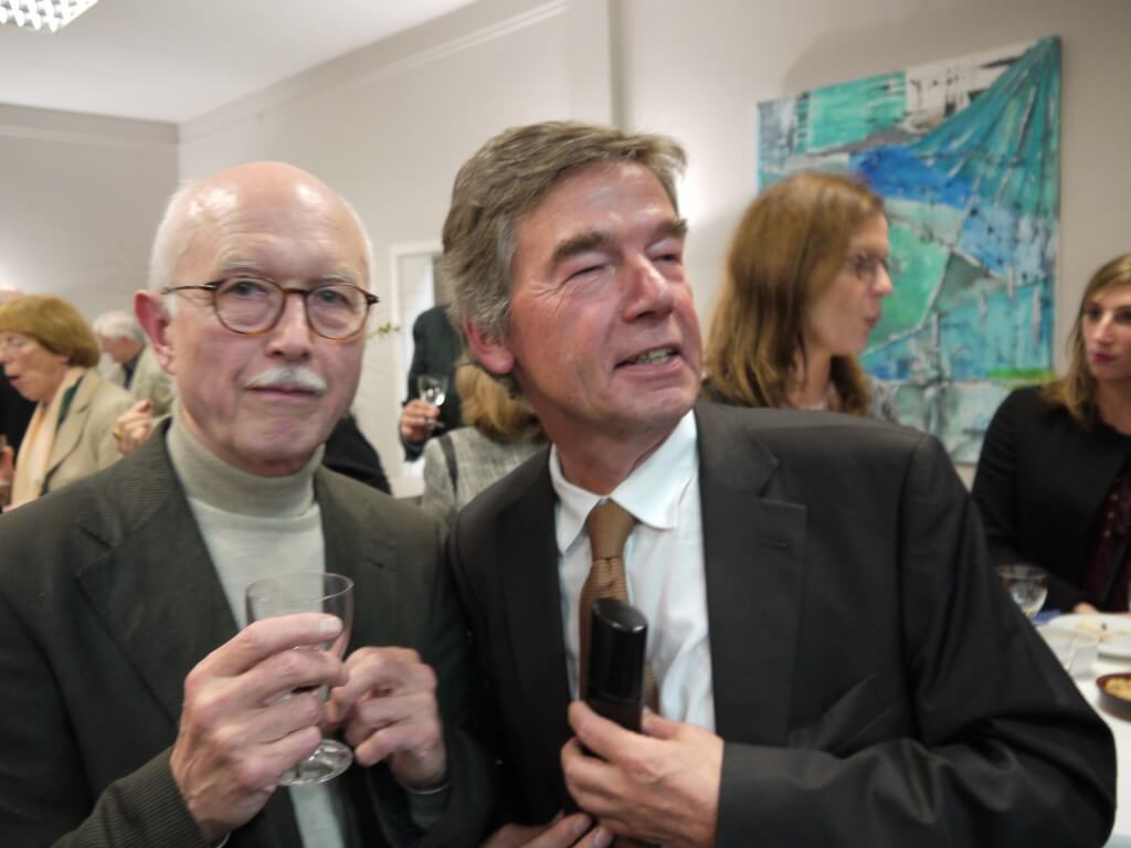 Frieder Schebesch und Norbert Kremeyer