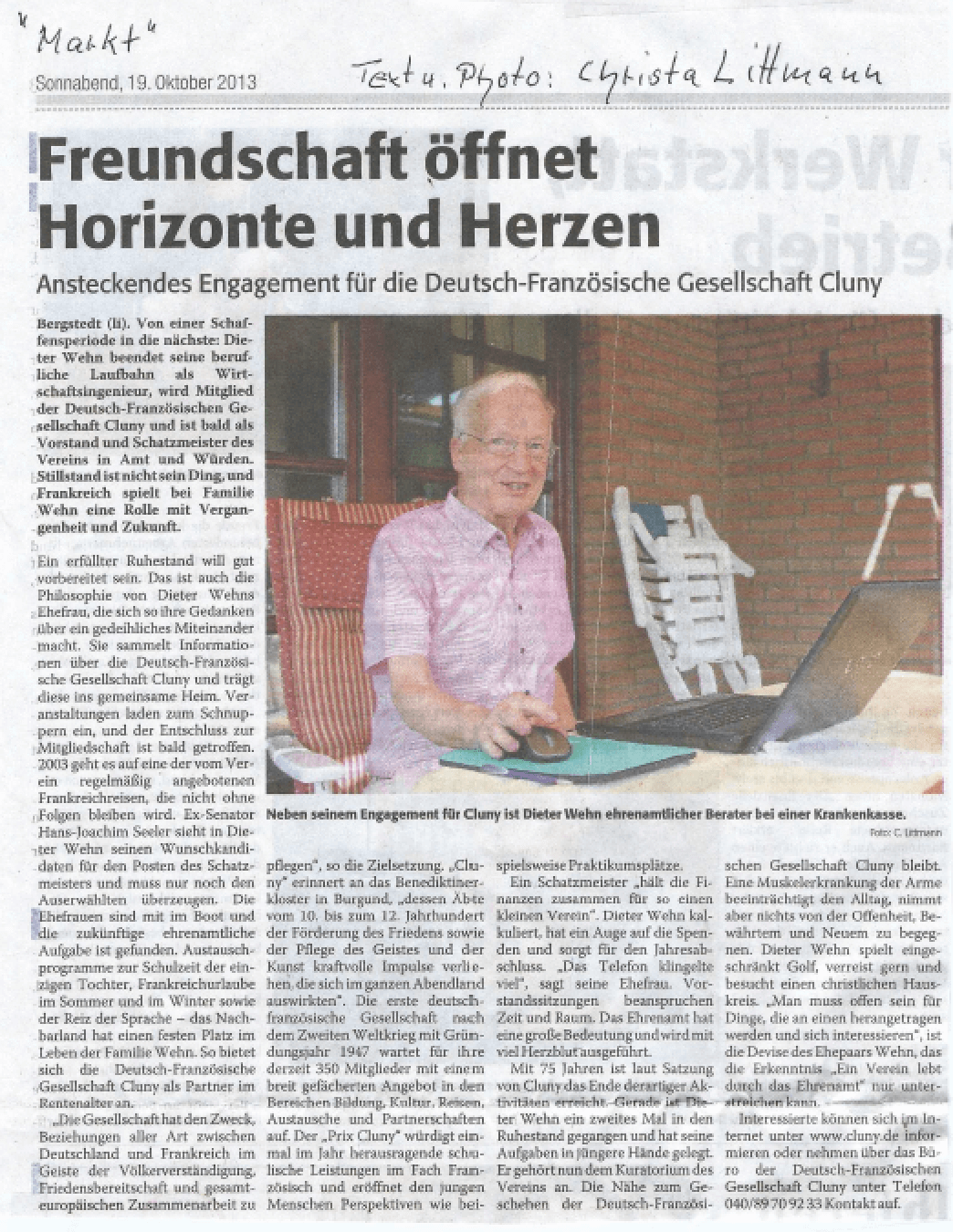 2013-10-19 Markt Dieter Wehn