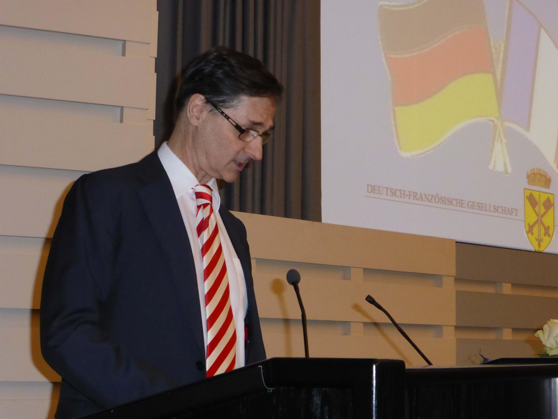 Festvortrag von Serge Lavroff, Generalkonsul der Französischen Republik in Hamburg
