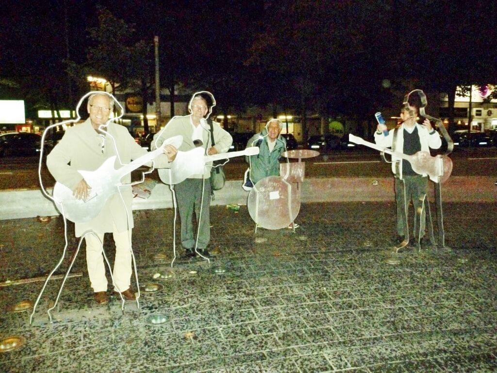 Beatles auf der Reeperbahn