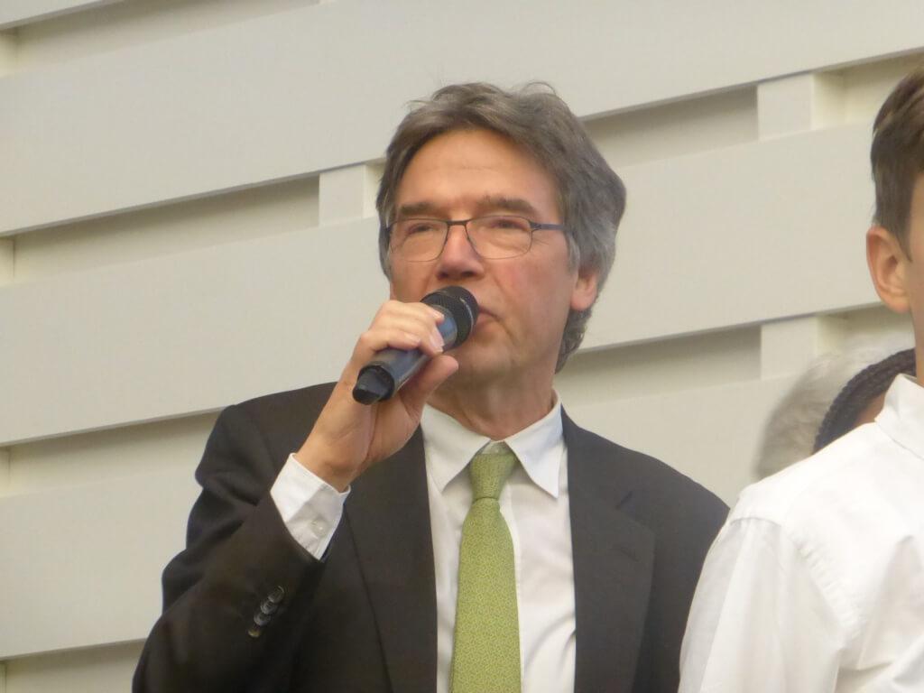 Cluny-Vorsitzender Norbert Kremeyer