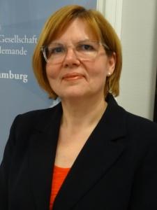 Valérie Le Vot, neue Vorsitzende des Kuratoriums