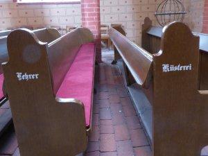 Zarrentin, in der Kirche St. Peter und St. Paul